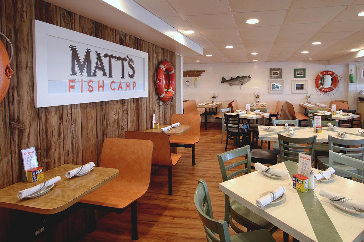 MATT'S FISH CAMP | NORTH BETHANY