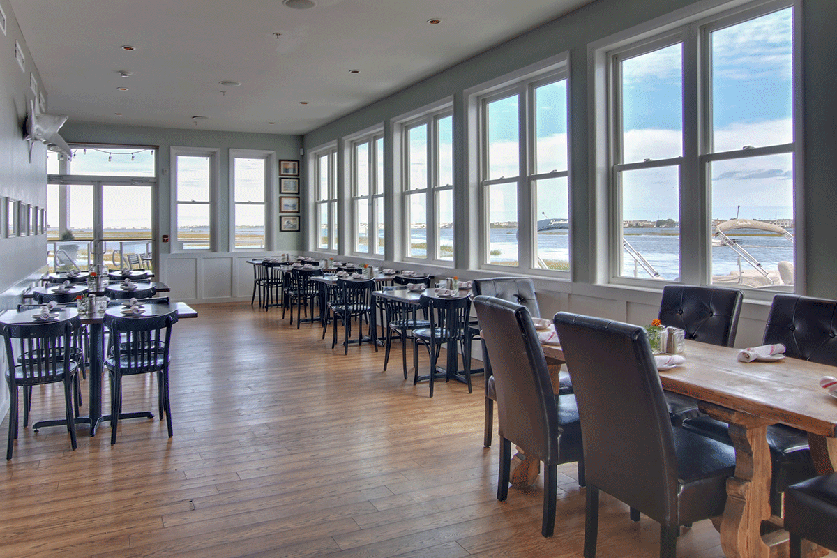 CATCH54 FISH HOUSE - FENWICK ISLAND   (302) 436-8600UPSTAIRS DINING ROOM FOR UP TO 60 GUESTS & COCKTAIL-STYLE RECEPTION FOR UP TO 100 GUESTSBOOK YOUR EVENT