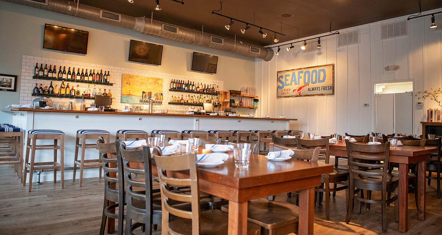 NORTHEAST SEAFOOD KITCHEN - OCEAN VIEW   (302) 537-1785BAR SIDE DINING ROOM SEATS UP TO 60 GUESTSBOOK YOUR EVENT