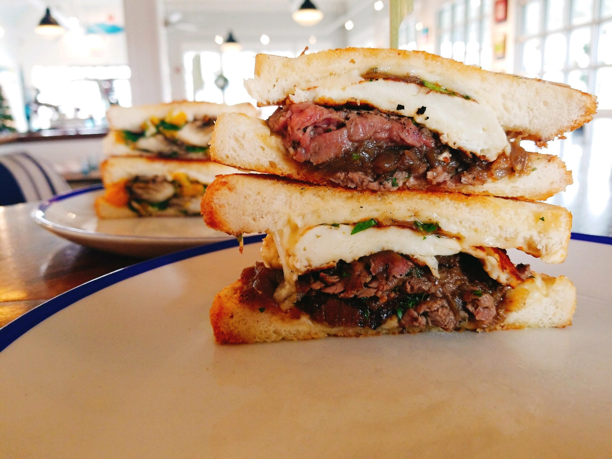 As part of SoDel Concepts' Grilled Cheese Month, Bluecoast Seafood Grill + Raw Bar in Rehoboth Beach has added such upscale ingredients as beef tenderloin and roasted winter veggies to the classic sandwich.