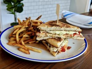 NorthEast Seafood Kitchen has slipped lobster into its grilled cheese sandwich special during SoDel Concepts Grilled Cheese Month.