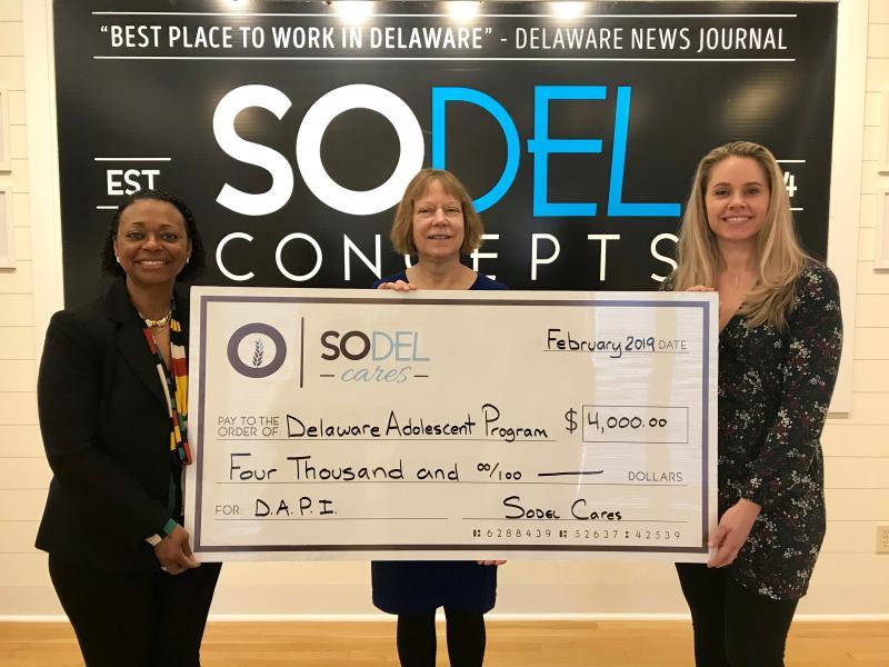 SoDel Cares donates to DAPI.JPG