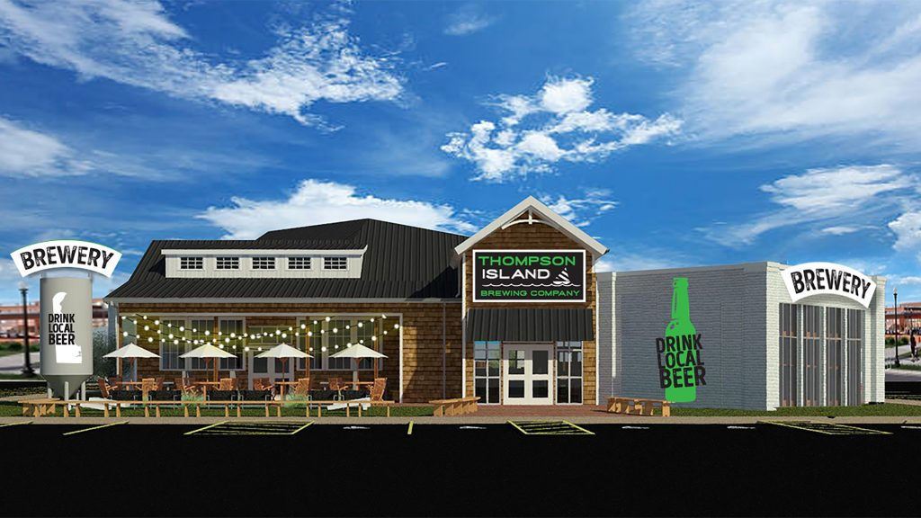 Thompson Island Brewing Co., which is currently under construction in Rehoboth Beach, will feature the talent brewmaster Jimmy Valm, who will work in collaboration with consultant John Troegner of Troegs Independent Brewing.