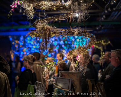 @ The Fruit - The Gala was an evening of watery, magical effervescence, compassion and dedication to service beyond one's Self.