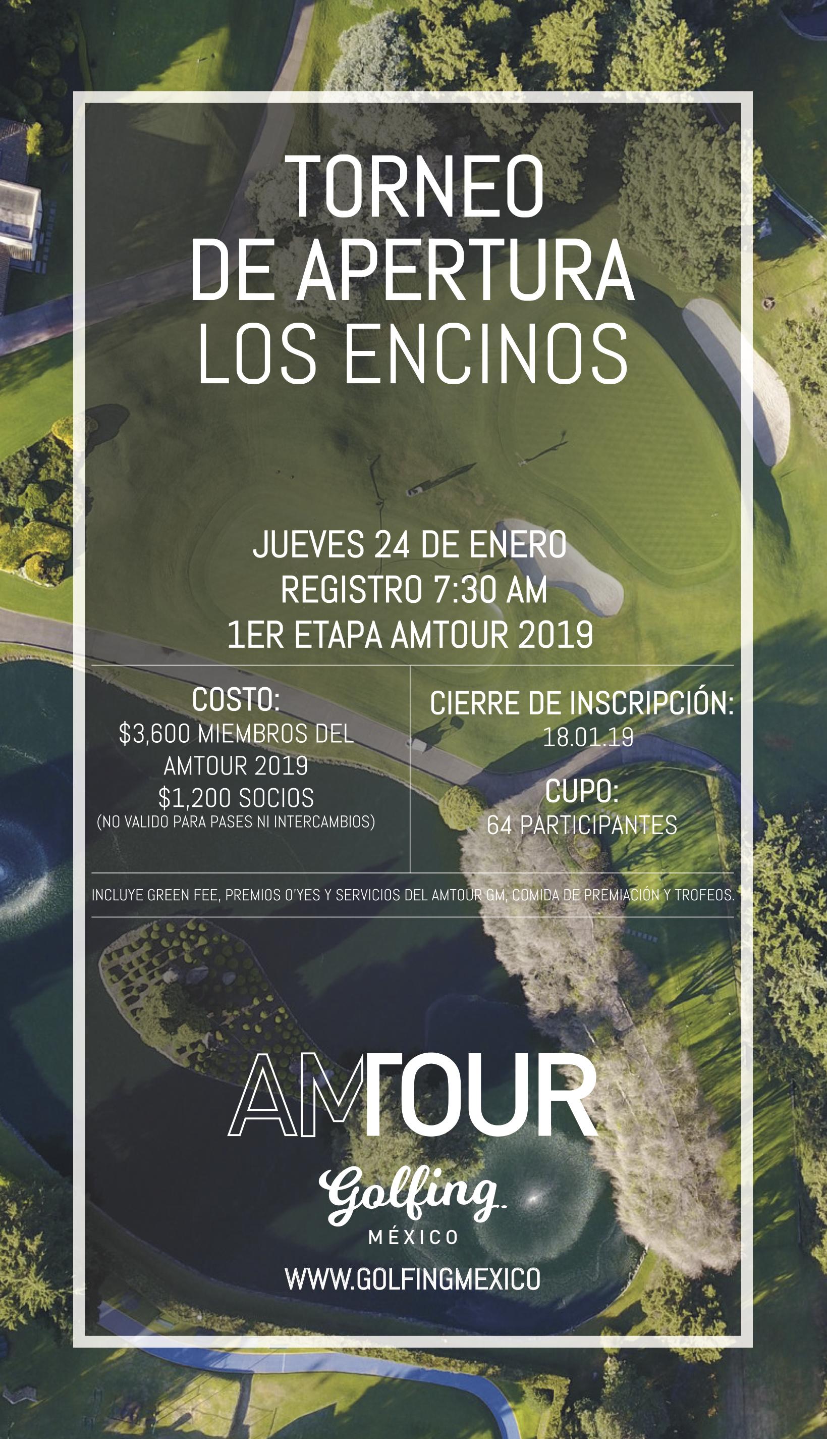 amtour los encinos golfing mexico