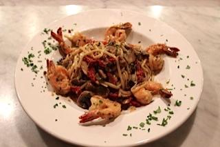 Shrimp Scampi Fettucini