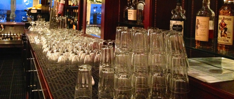Glassware at the Bar