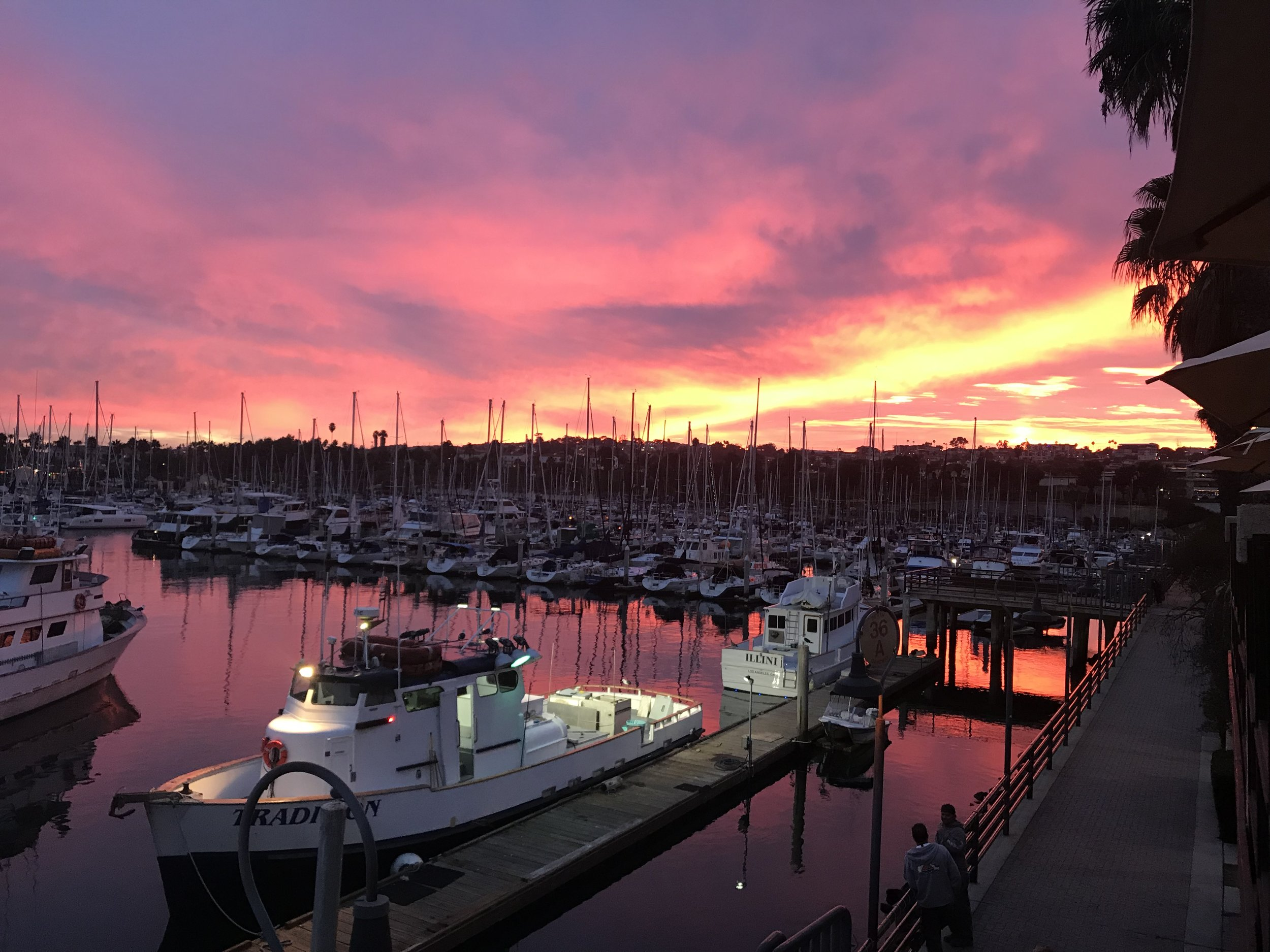 Sunset December 2018