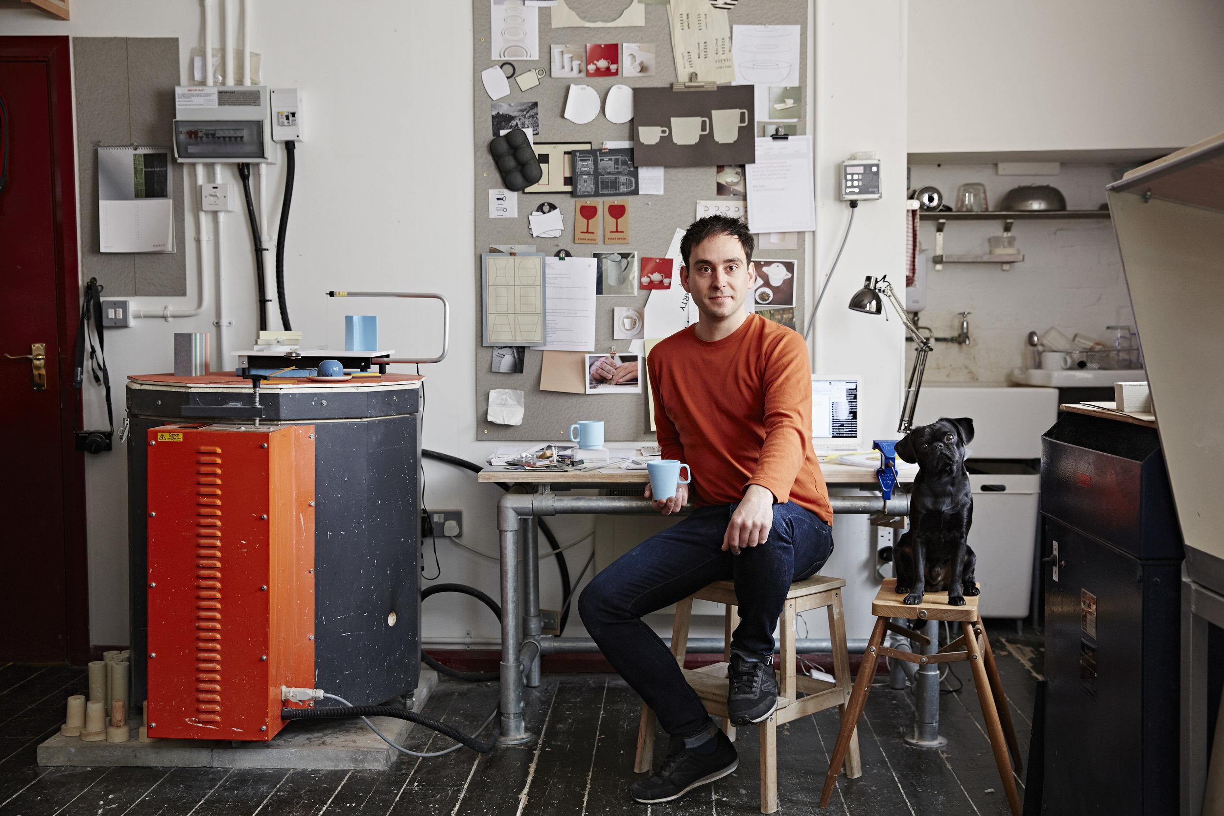 Studio portrait courtesy of  Alun Callender