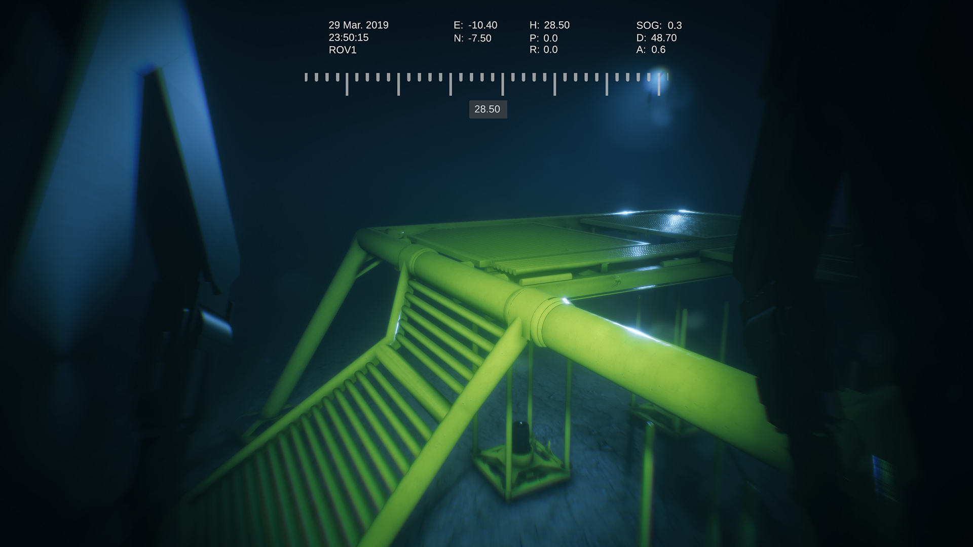 CCTV Subsea Template