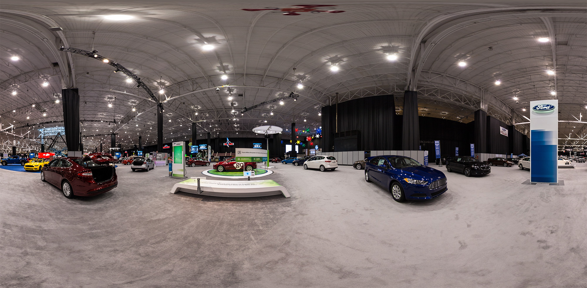 Cleveland Auto Show - Ford Display