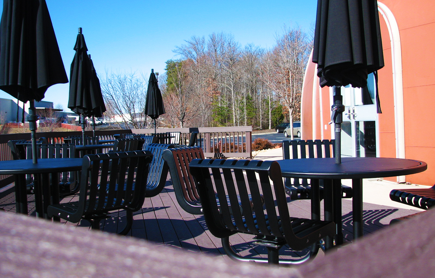 Deck Area  - outside deck area