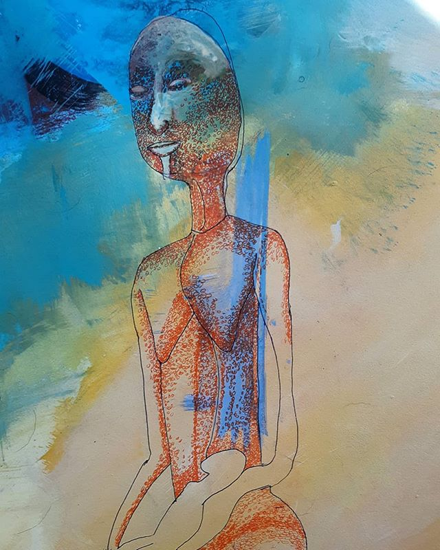 Detail* new work in progress ink on paper #artistsoninstagram  #art #ink #paper #contemporaryart #artcollector #painting