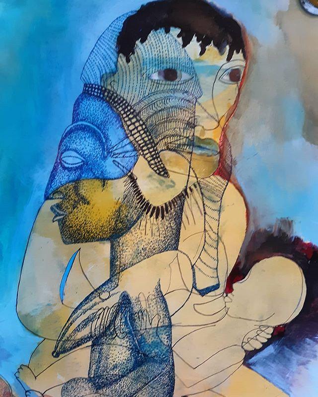 New work in progress ink on paper.  #art #contemporaryart #painting #artistsoninstagram #artgallery #artcollector #artist