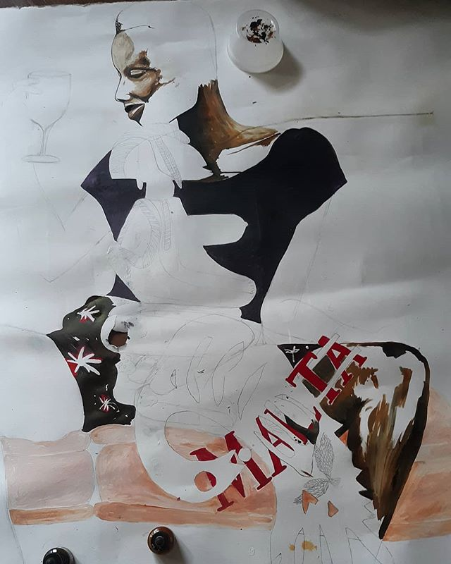 New work in progress. Ink on paper. #contemporaryart #artist #houstonartist #art #artist #contemporaryart #contemporaryartist #artgallery #artcollector  #ink #paper