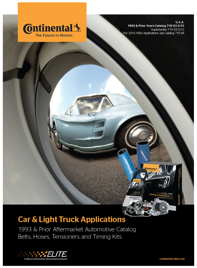 1993 & Prior Car & Light Truck Applications