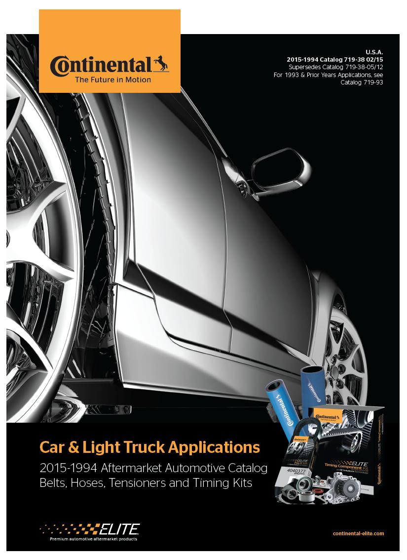 2015-1994 Car & Light Truck Applications