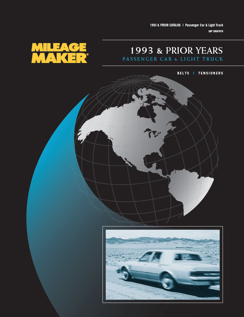 1993 & Prior Years Passenger Car & Light Truck