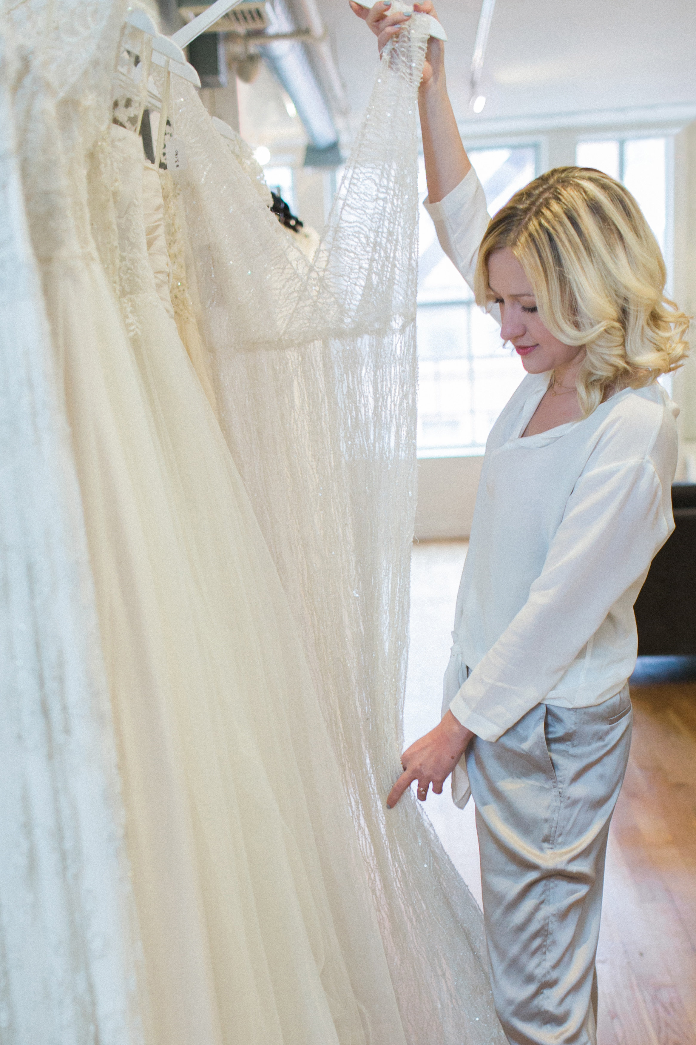Photo of founder Camille Wynn by Alexis June Weddings