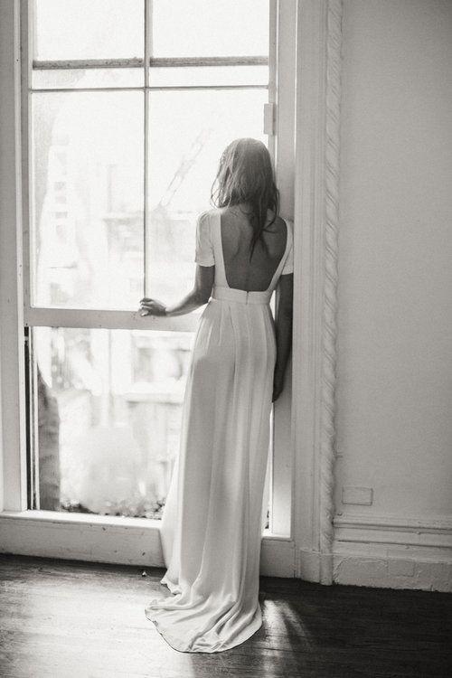 nashville minimal wedding dress