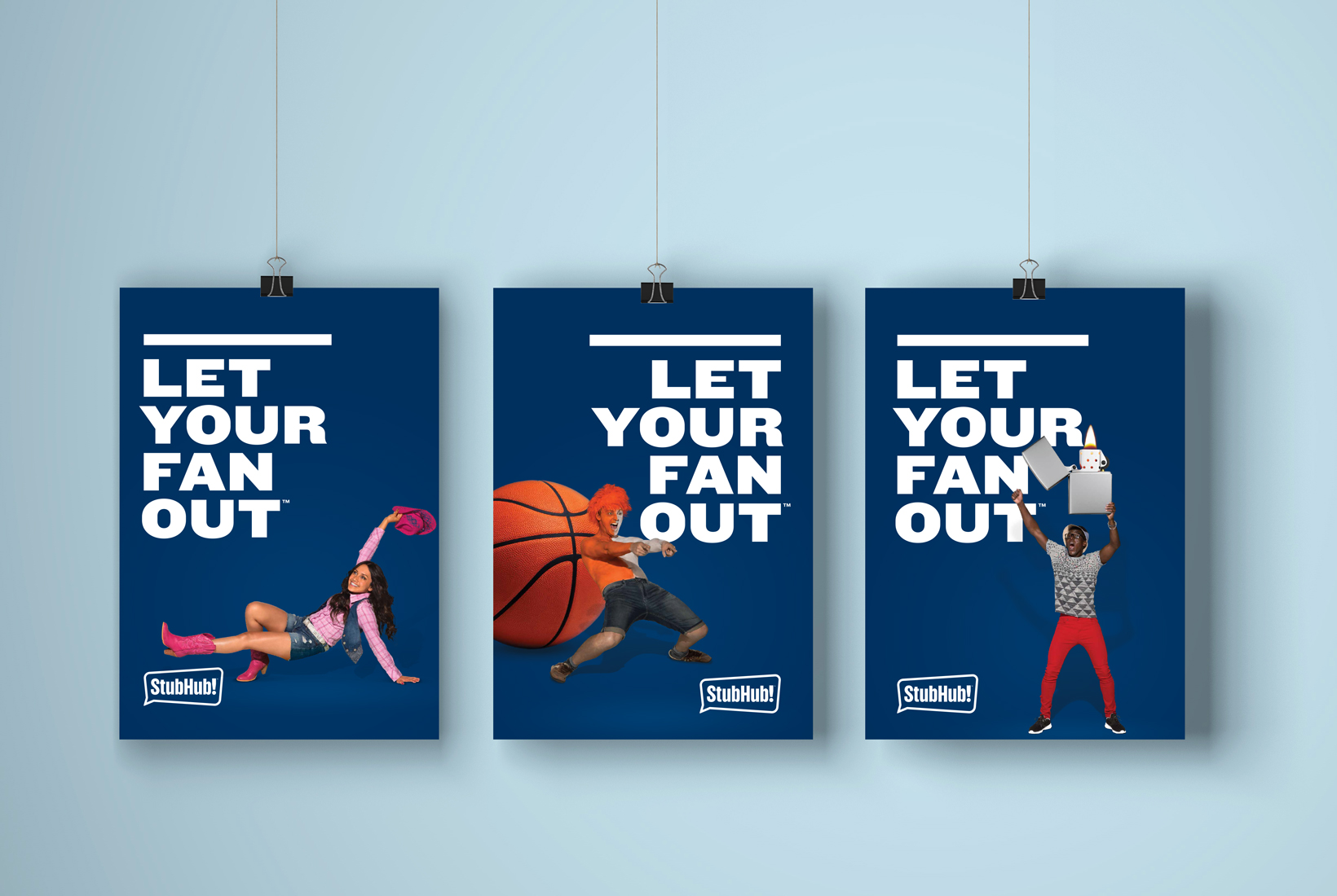 Let Your Fan Out Office Posters