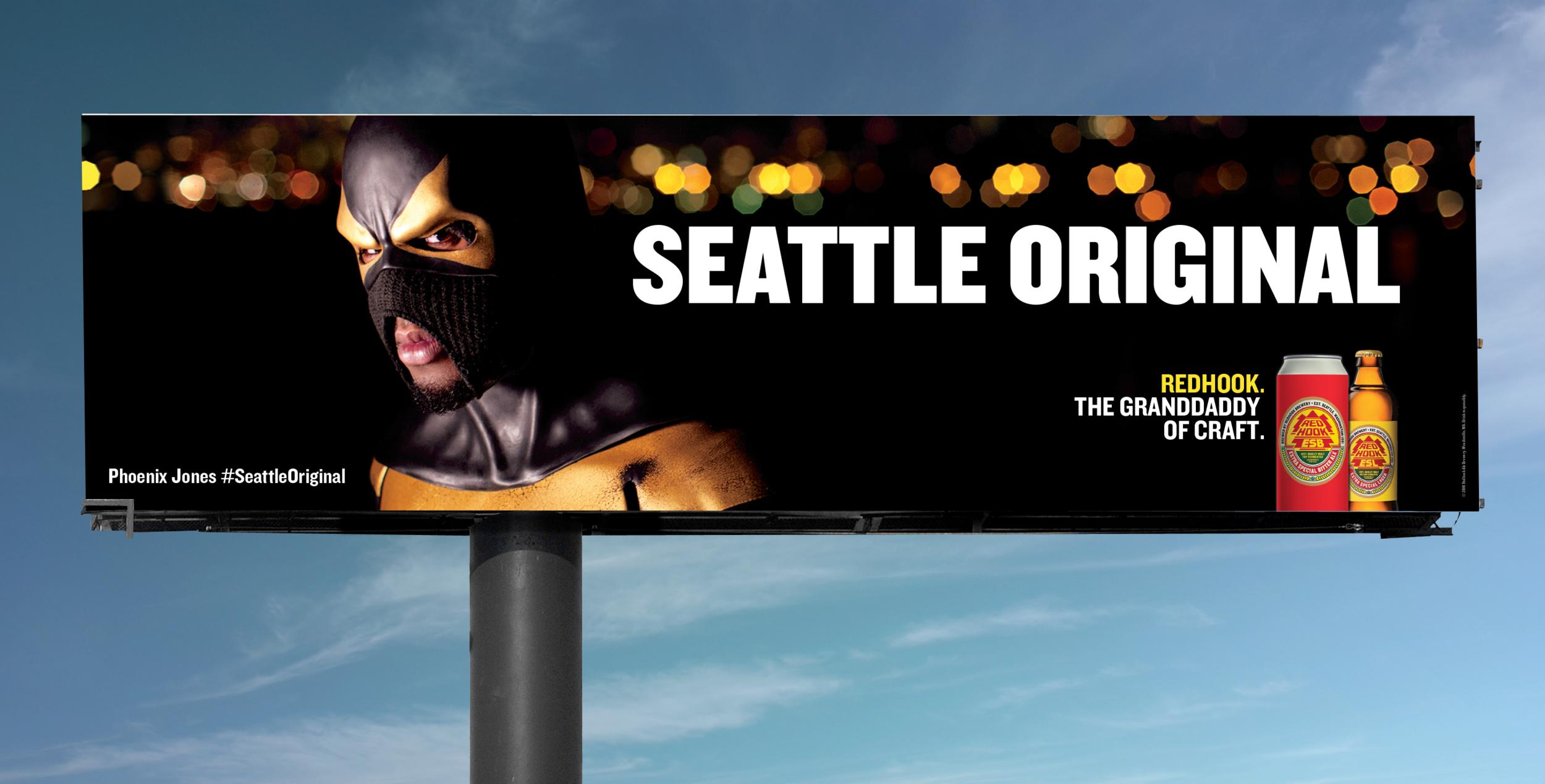 Phoenix Jones Billboard