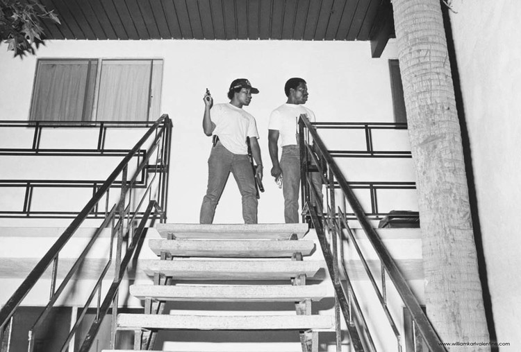 PPD-134 #24   (8/7/86) Officers Riddle and Ware at 849 N. Summit searching for rock cocaine sales suspect
