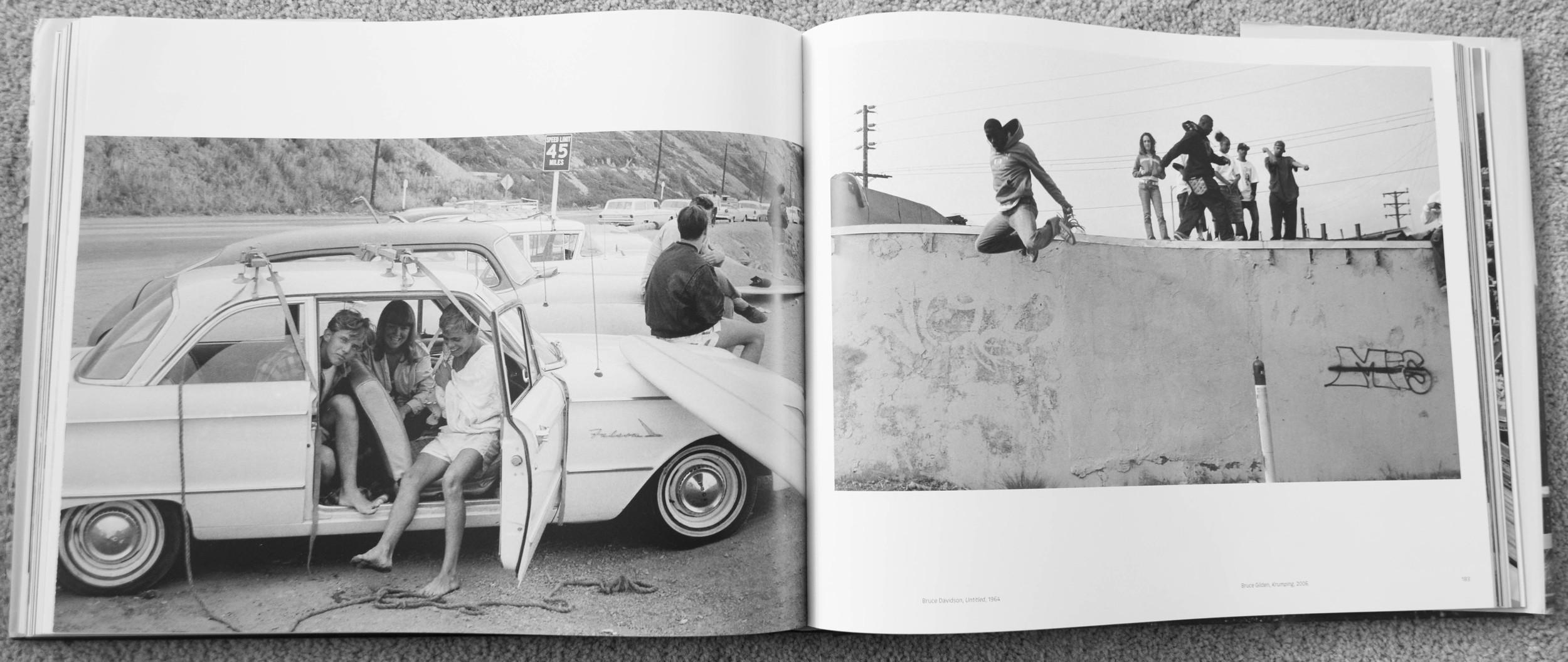 "Bruce Davidson 1964 & Bruce Gilden 2006- ""Photographing Both Sides of Sunset"""