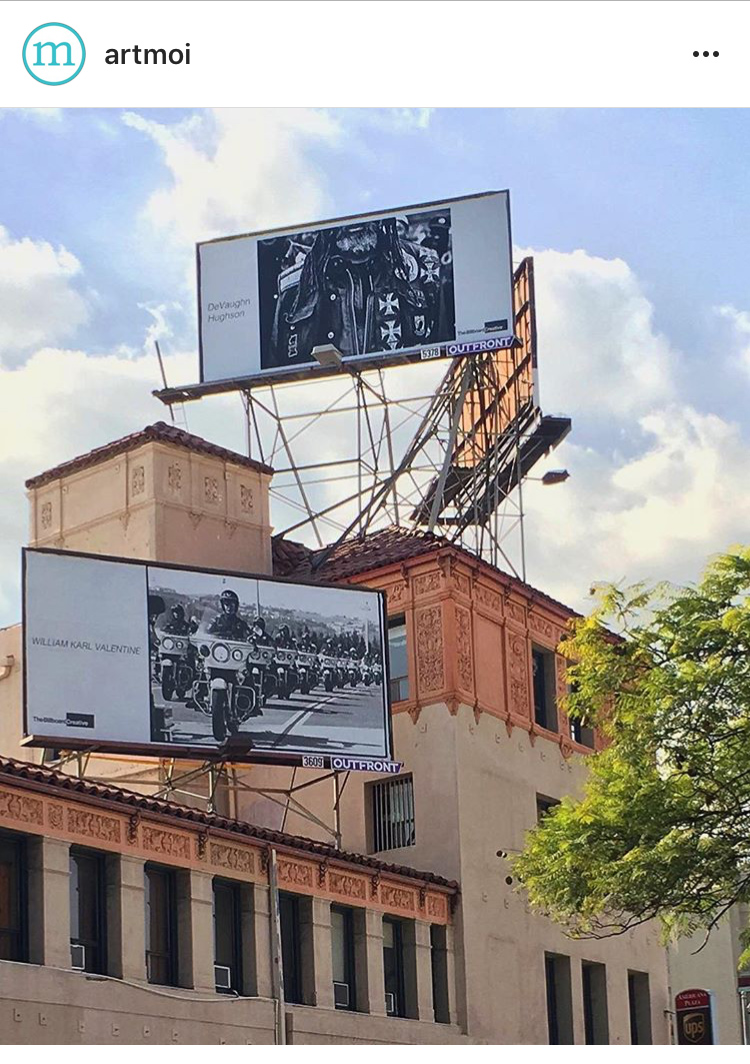 Artmoi used my billboard on their feature about the 2016 Billboard Creative in Los Angeles
