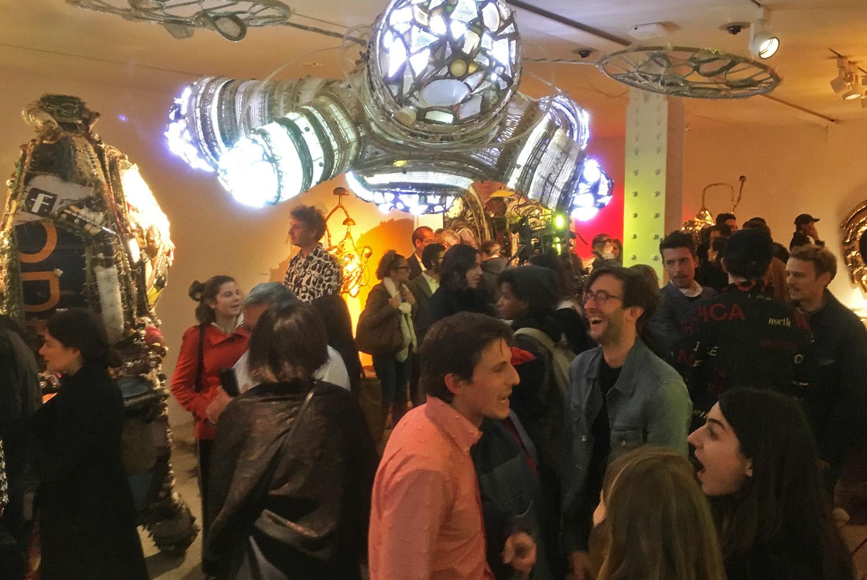 Misha Kahn's Midden Heap at Friedman Benda Gallery