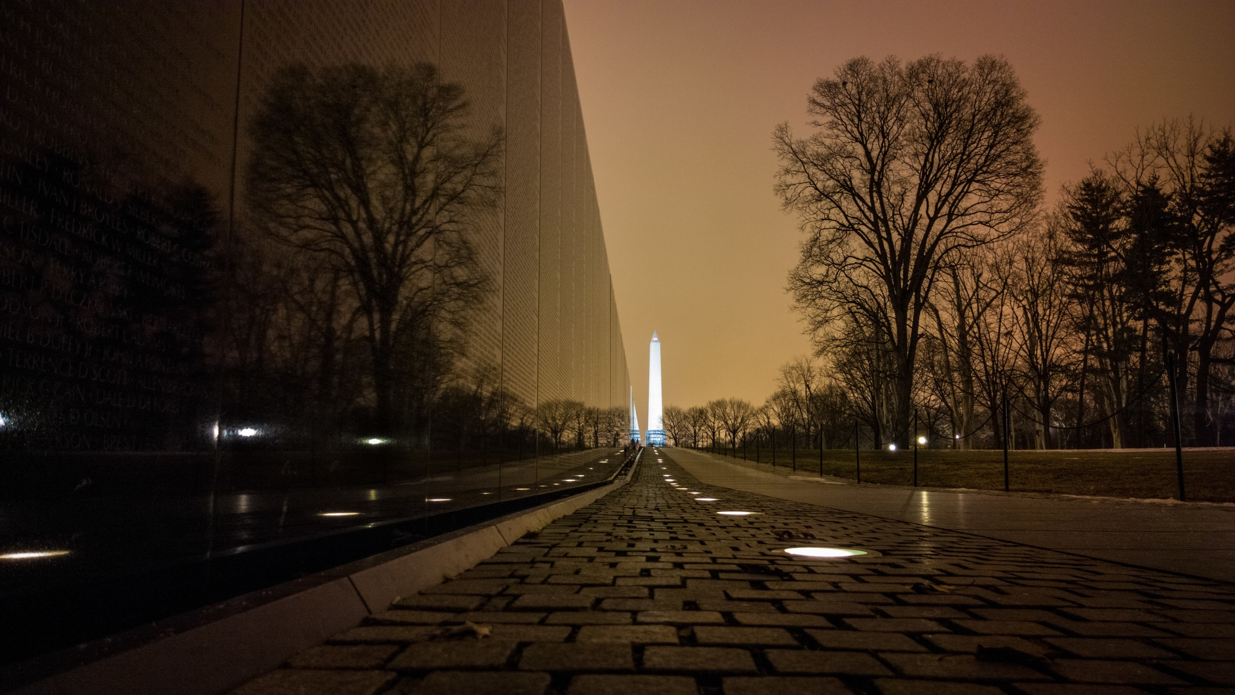 Washington and Vietnam Monuments, Washington, DC