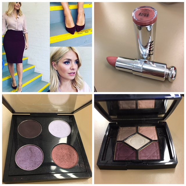 Christian Dior 970 Stylish Move     Eyeshadow's & Mac / shadowy lady       Nizz vegan cosmetics / lustre rose nude/ feel so lovely and great for dry lips       Sisley mascara/ so intense 1