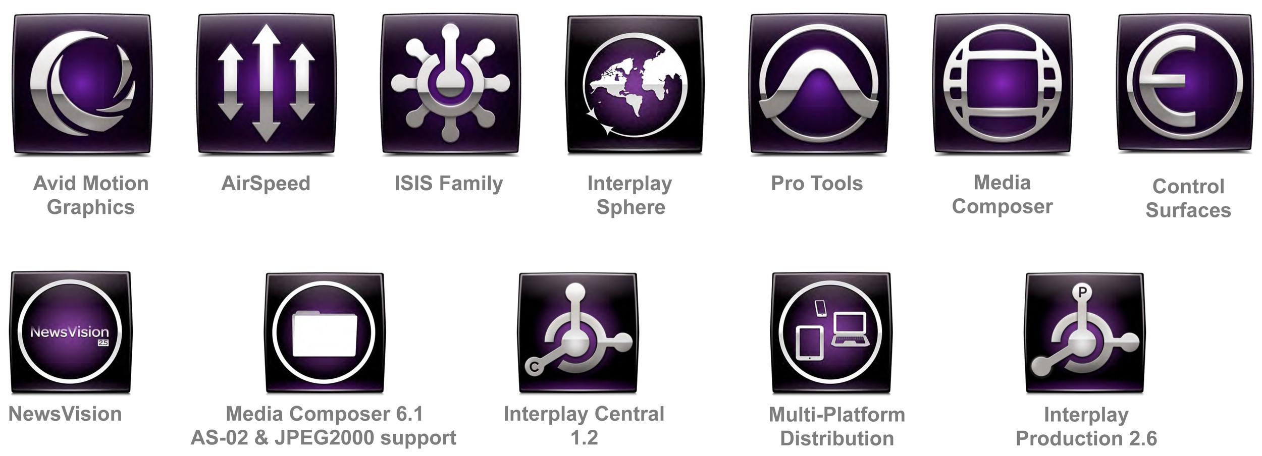 Avid Icons