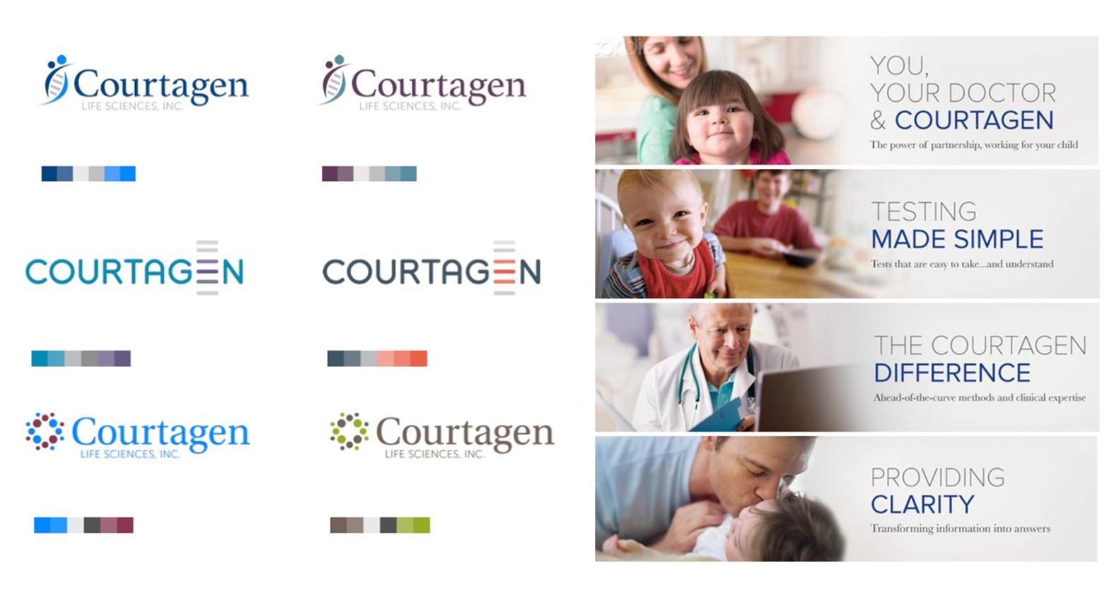 Courtagen Branding