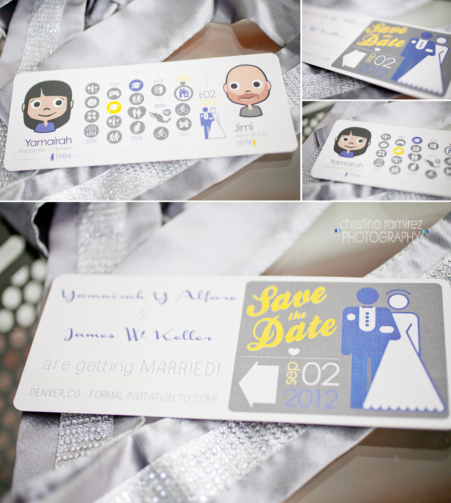 do it yourself wedding save the date