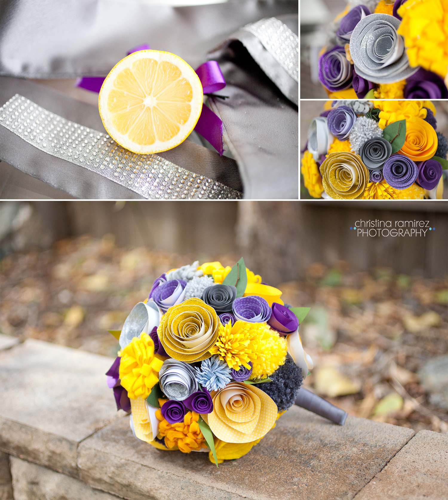 do it yourself wedding paper bouquet