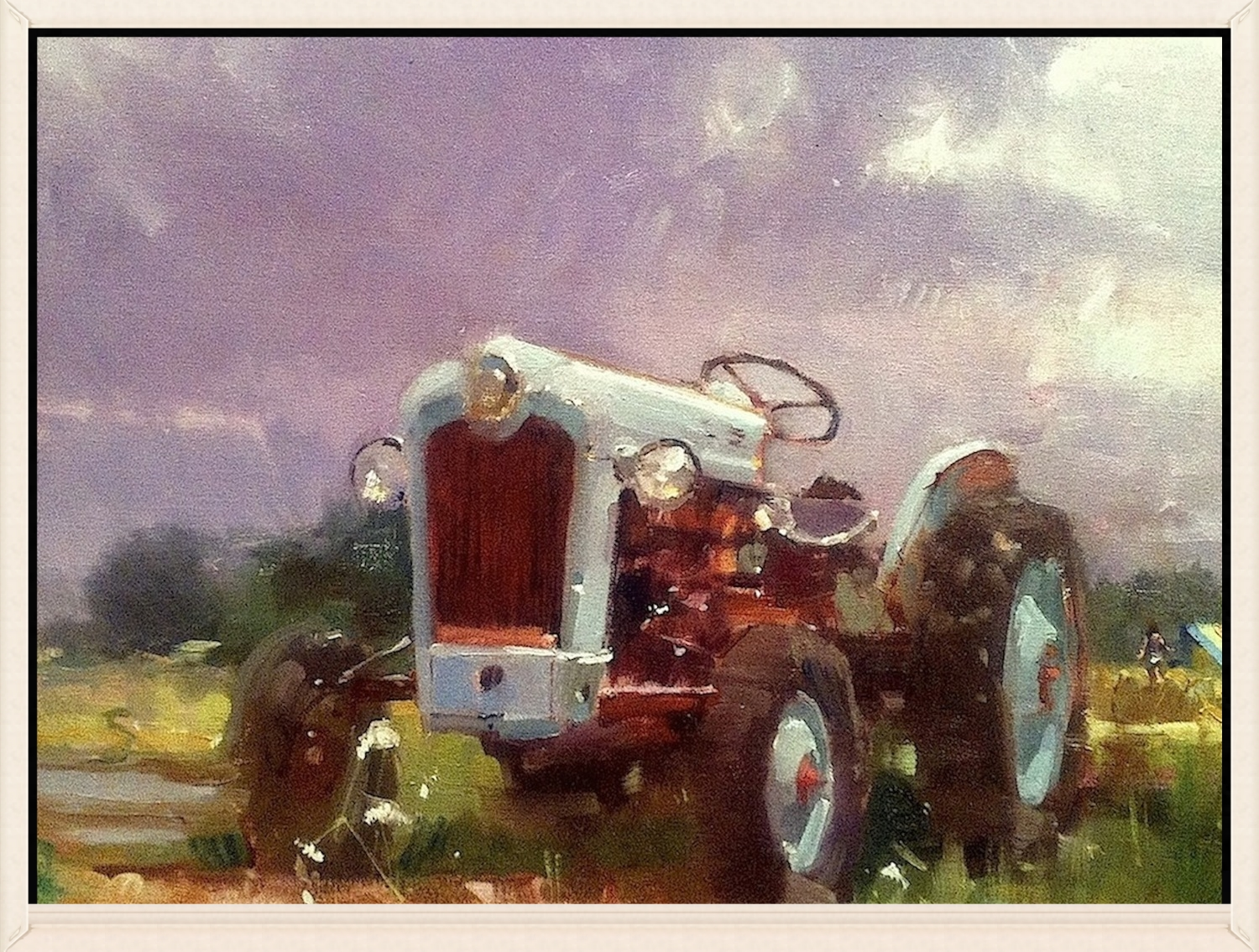 Ford Jubilee and the Morning Showers, Oil