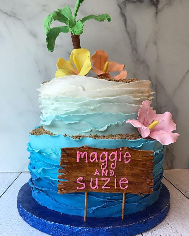 #moanaforlife #houstoncakes #thevelvetcrumb #moanacake
