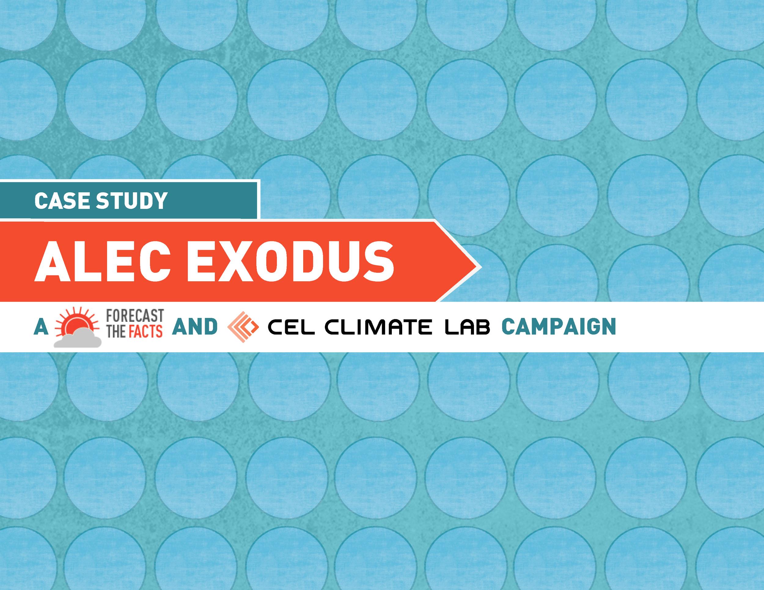 Presentation Design: ALEC Exodus