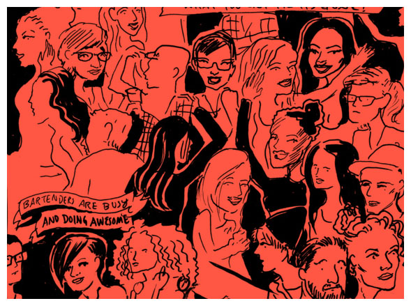 Preview: Lexington Club Comics