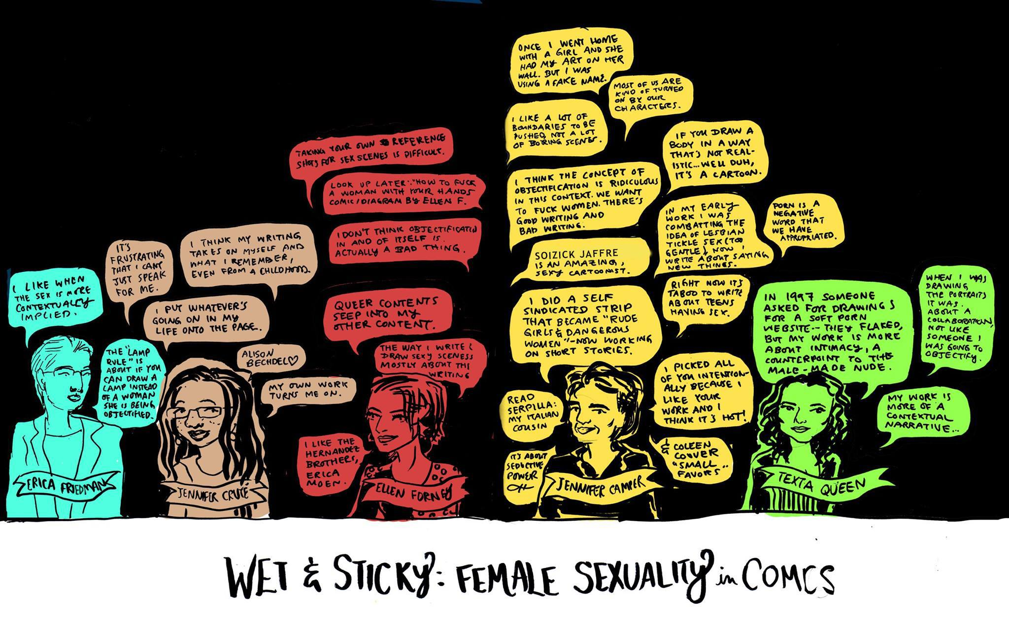 Panel: Female Sexuality in Comics
