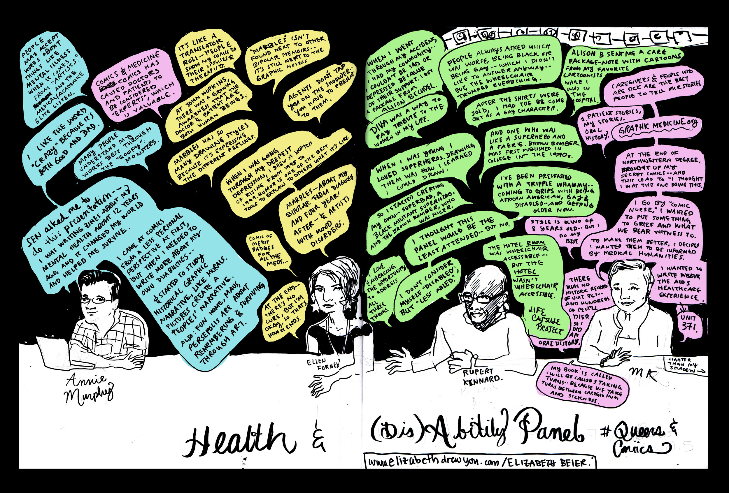 Panel: Health and (dis)abilities
