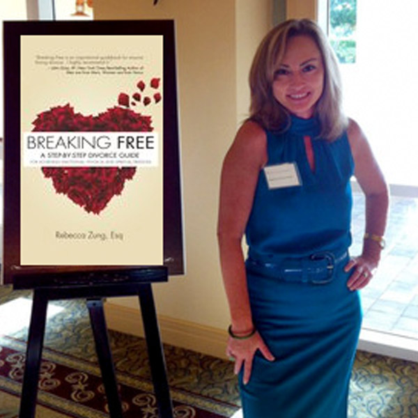 Rebecca Zung Breaking Free Book Signing