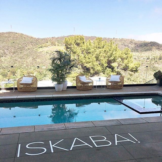 """When this is your view, is it really considered """"work""""? Going into the holiday weekend ready to throw down! #iskaba #iskabaworldwide #partyallday #yellowbirdevents"""