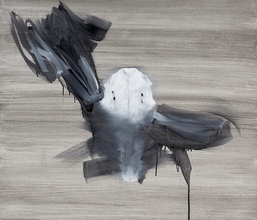 veil  2014  oil on canvas  92 x 107cm