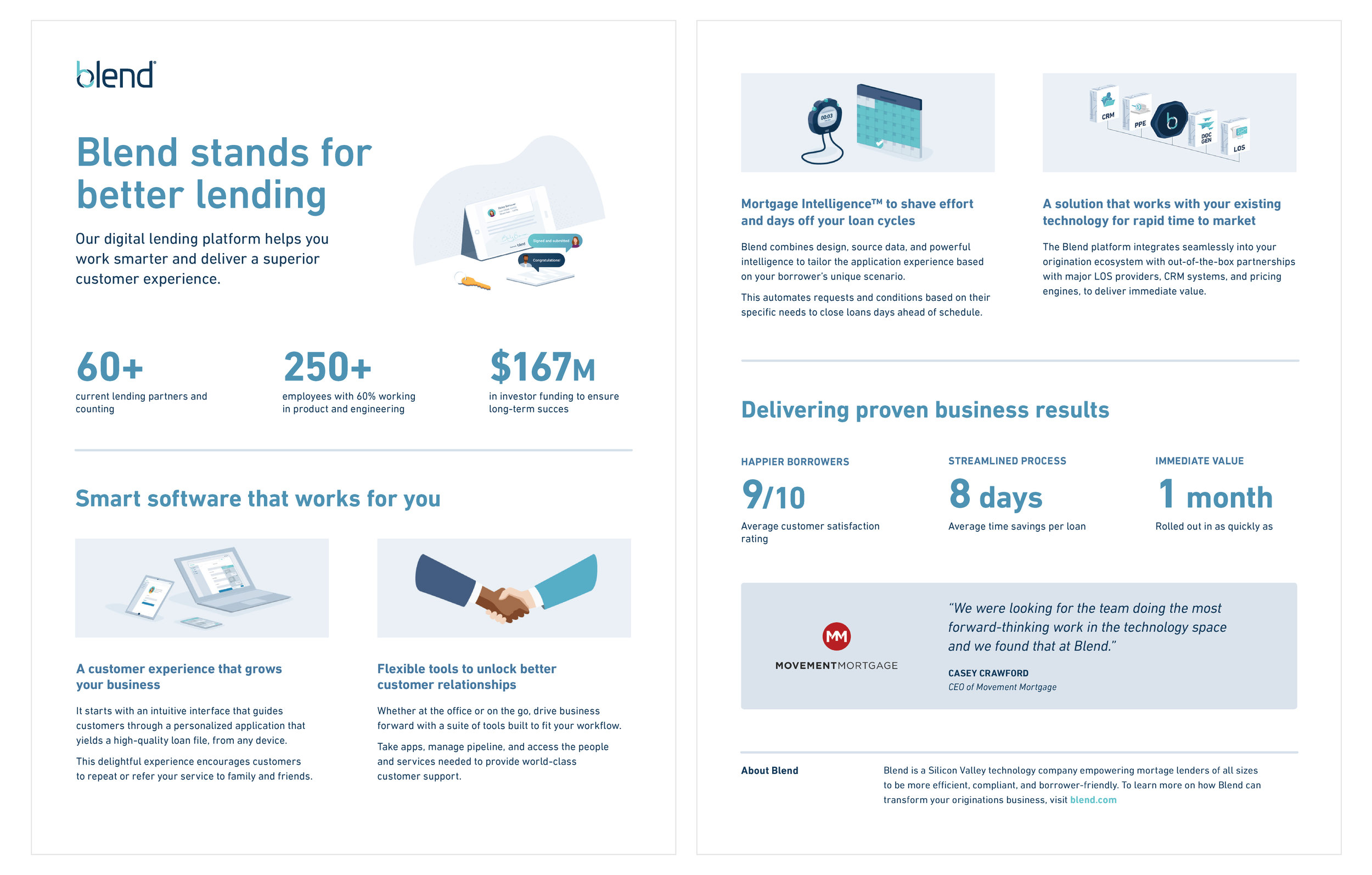 Marketing product info one-pager - 2018