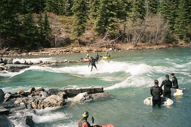 Life as a surfer in the Rocky Mountains.