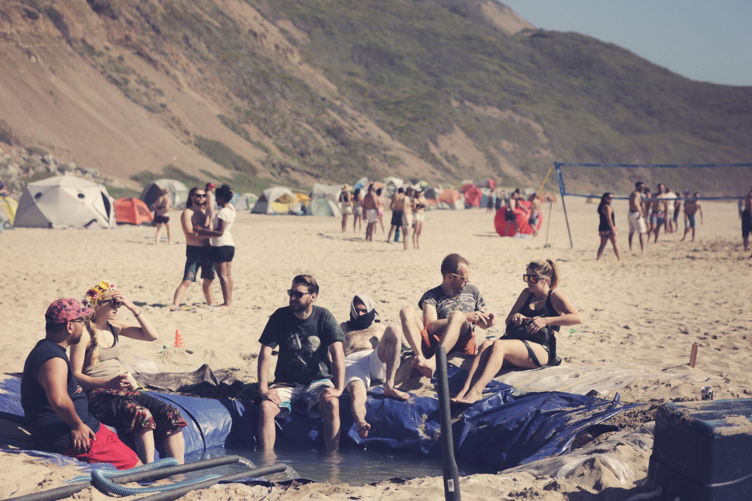 MacGyver Beach Hot Tub
