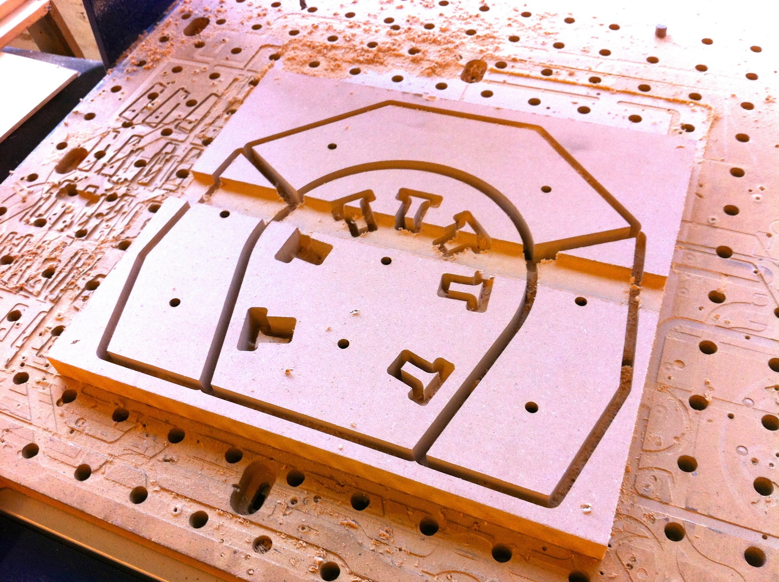 Mold fabrication