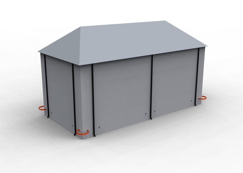 En fördel med långa bommar är dock att de går att sätta upp runt hörn. Då kan en bom varna från två sidor av fastigheten samtidigt.